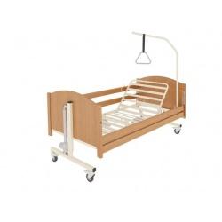 Łóżko rehabilitacyjne TAURUS z leżem metalowym + materac