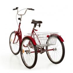 Rower trójkołowy średni 20 cali bez przerzutki