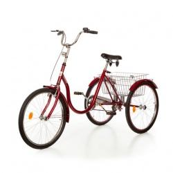 Rower trójkołowy duży 24 cale bez przerzutki