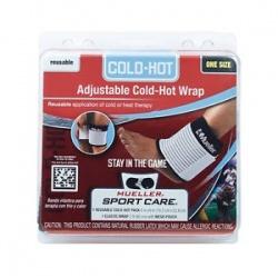 Okład żelowy Hot/Cold Pack z osłonką i elastycznym bandażem Mueller