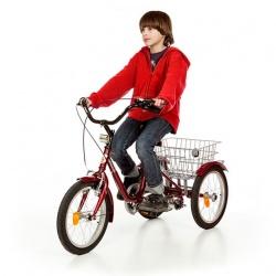 Rower trójkołowy mały 16 cali bez przerzutki